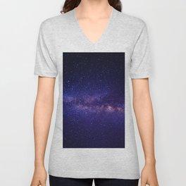 Summer Shore Galaxy Unisex V-Neck