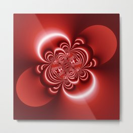 3D - abstraction -51a- Metal Print