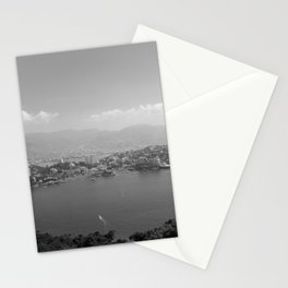 Black and White Acapulco Stationery Cards