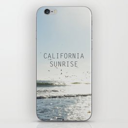 california birds v. 2 iPhone Skin