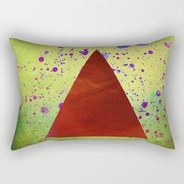 Triangle Composition Rectangular Pillow