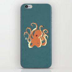 O is for Octopus iPhone & iPod Skin