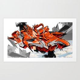 Arctic Heat Art Print