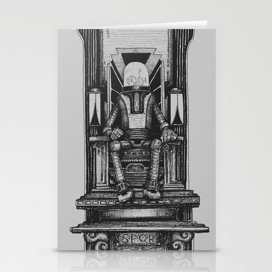 Pax Robota - B&W Stationery Cards