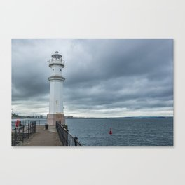 Light Tower in Edingburgh Canvas Print