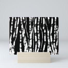 CURVY BIRCH TREE Mini Art Print