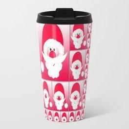 Santa Claus Collage CB Travel Mug