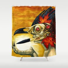Raptor: Corvus Shower Curtain