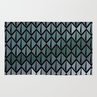 scales Area & Throw Rugs featuring Scales by Xaphedo