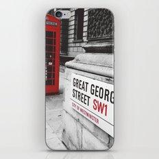 Great George Street (v.2 : square) iPhone & iPod Skin
