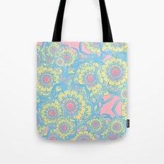 Pastel colored daisies Tote Bag