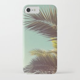 Autumn Palms iPhone Case