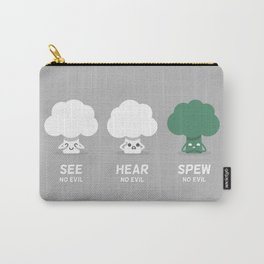 Spew No Evil Carry-All Pouch