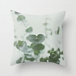 EUCALYPTUS GREEN 2 Throw Pillow