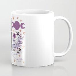 Folk Art Woodsy Owl Coffee Mug
