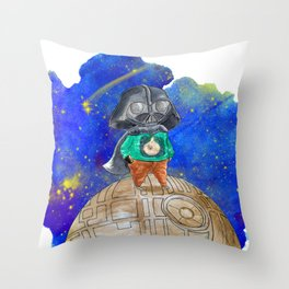 Little Sith Prince / Le Petit Prince Throw Pillow