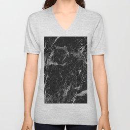 Campari - black marble Unisex V-Neck