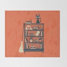 Ghibli Shelf // Miyazaki Throw Blanket