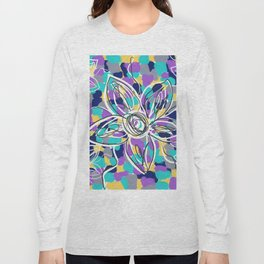 Floral Mantra Long Sleeve T-shirt