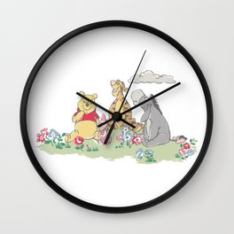 Winnie the Pooh x Cath Kidston Wall Clock