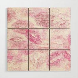 kisses Wood Wall Art