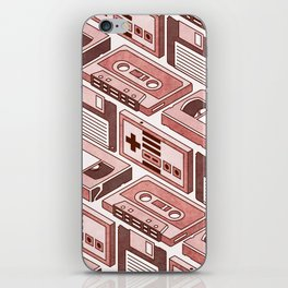 90's pattern iPhone Skin