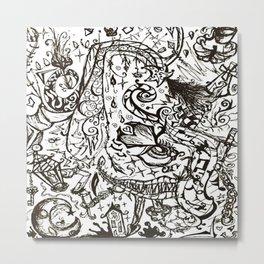 Curious er & Curious er Metal Print
