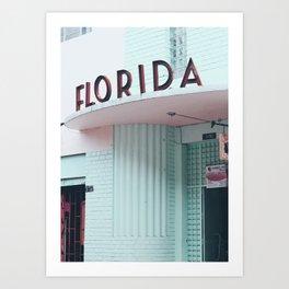 Florida Architecture Art Print