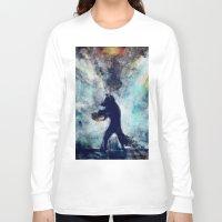 rocket raccoon Long Sleeve T-shirts featuring Rocket Raccoon by Luca Leona
