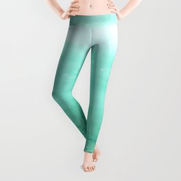 Ombre Robins Egg Leggings