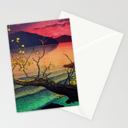Hailing the Day's End at Towa Stationery Cards