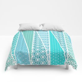 Patterned Triangles Comforters