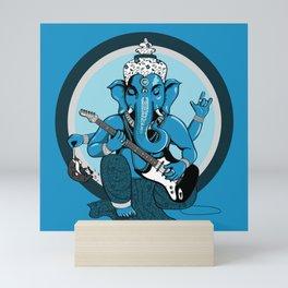 Ganesha rocks ! (v1) Mini Art Print