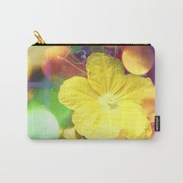 Secret Garden | Cucumber flower Carry-All Pouch