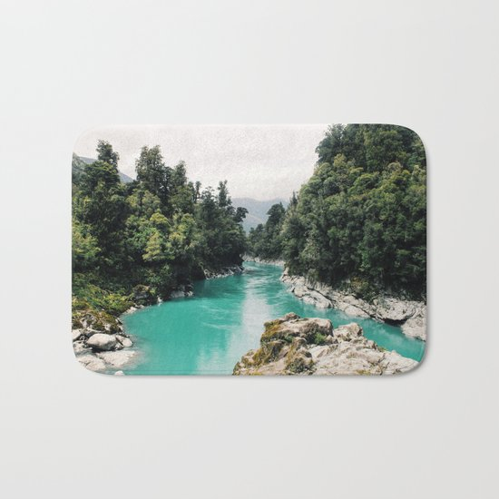 A River Runs Through It Bath Mat