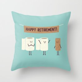 Over This Crap Throw Pillow