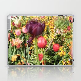 Flower Schadows Laptop & iPad Skin