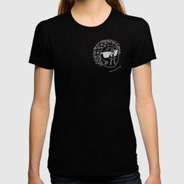 Sun in Black T-shirt