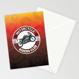 Motorcycle Riders Club Stationery Cards