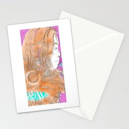 Nail Girl Stationery Cards