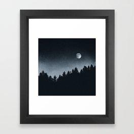 Under Moonlight Framed Art Print