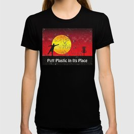 Vintage Disc Golf Billboard T-shirt
