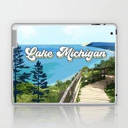 Lake Michigan Retro Laptop & iPad Skin