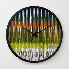 Optic Multicolor Wall Clock