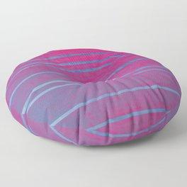 Opalescent Pinks & Blues Floor Pillow