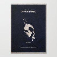 donnie darko Canvas Prints featuring Donnie Darko by A Deniz Akerman