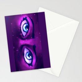 Galaxy Eyes Stationery Cards