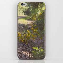 Hold on to Me as We Go, As We Roll Down This Unfamiliar Road. iPhone Skin