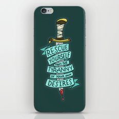 The Tyranny of Your Own Desires iPhone & iPod Skin