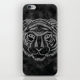 Tiger Lines iPhone Skin